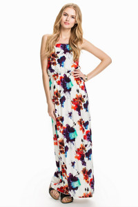 VERO MODAEASY SL BLACK STRING MAXI DRESS299.- NELLY.COM KÖP HÄR