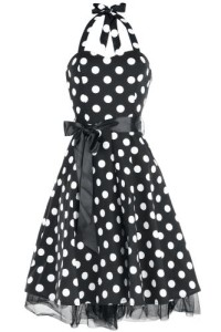 H&R LONDON BIG DOTS DRESS DRESS 649.- EMP-SHOP.SE KÖP HÄR