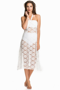 HOT ANATOMY LACE MAXI SKIRT DRESS399.- NELLY.COM KÖP HÄR