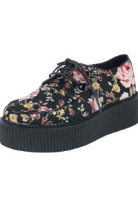 INDUSTRIAL PUNK CREEPERS FLOWERS SHOES 649.- EMP-SHOP.SE KÖP HÄR
