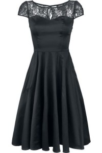 H&R LONDON BLACK MESH LACE DRESS 649.- EMP-SHOP.SE KÖP HÄR