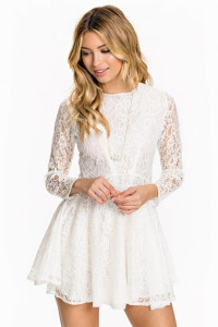 JOHN ZACKL/S LACE SKATER DRESS449.- NELLY.COM KÖP HÄR