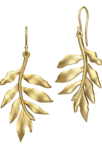 JULIE SANDLAUTREE OF LIFE EARRING - GOLD EARRINGS2 099.- BOOZT.COM KÖP HÄR