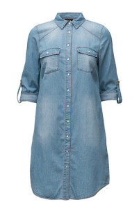 VILA VIDONNA LONG DENIM SHIRT DRESS499.95.- BOOZT.COM KÖP HÄR