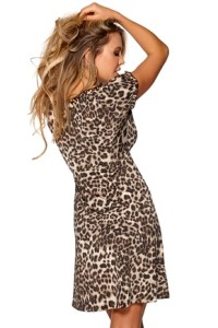 HAPPY HOLLY LEOPARD DRESS 199.- BUBBLEROOM.SE