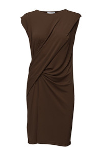 MANGODRAPED DETAIL DRESS 499.- BOOZT.COM