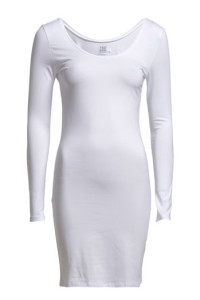 SAINT TROPEZ LONG SL WITH DEEP BACK DRESS179.- BOOZT.COM KÖP HÄR