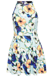 AX PARISFLORAL SKATER DRESS199.- NELLY.COM KÖP HÄR